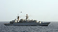 HMS Cumberland Is Photographed After Passing HMS Cornwall During Anti-Piracy Operations MOD 45150759.jpg