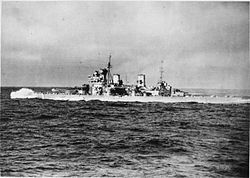HMS Duke of York during an Arctic convoy.jpg