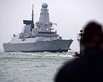 HMS Duncan Arriving in Portsmouth MOD 45155247.jpg