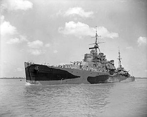 Crown Colony-class cruiser - Image: HMS Nigeria
