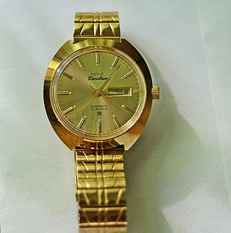 HMT (company) - HMT Kanchan Automatic wrist watch