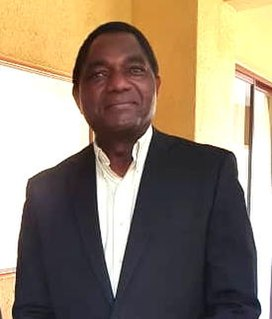 Hakainde Hichilema President of Zambia since 2021