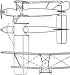 Halton HAC-1 Mayfly 3-view Le Document aéronautique October,1926.png