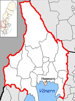 Hammarö Municipality in Värmland County.png
