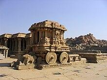 Tempio Vittala - il carro dedicato a Garuda.