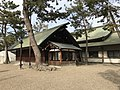 Haraedono Hall and Kaguraden Hall of Sumiyoshi Grand Shrine.jpg
