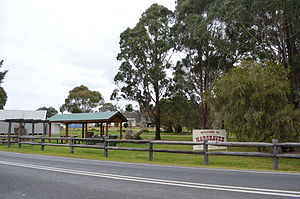Hargraves, New South Wales - A park in Hargraves
