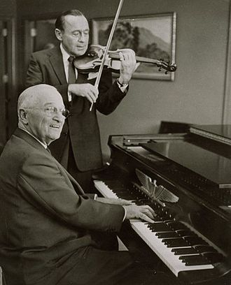Jack Benny - Harry Truman and Jack Benny on September 3, 1959
