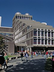 The Science Center, located just north of Harvard Yard