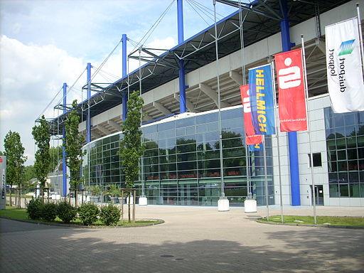 Haupttribüne MSV-Arena