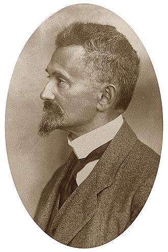 Felix Hausdorff - Image: Hausdorff 1913 1921