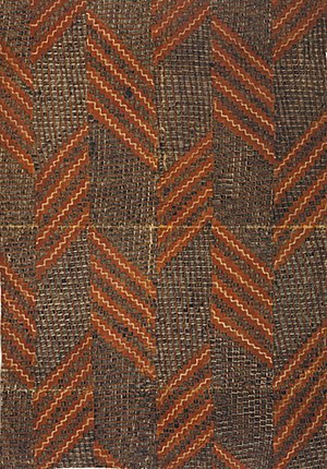 Barkcloth - Hawaiian kapa from the 18th century.