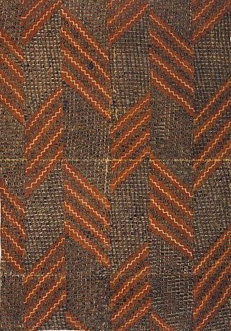 Barkcloth - Hawaiian kapa from the 18th century.
