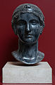 Head of woman (Saffo?) in Palazzo Massimo alle Terme (Rome).jpg