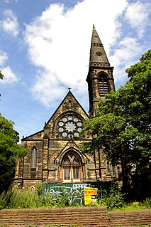 Headingley Hill Congregational Church Church building in Leeds, West Yorkshire, UK