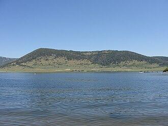 Hebgen Lake - Image: Hebgen Lake Rainbow Point