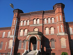 Hebrew Orphan Asylum (Baltimore, Maryland) - Entrance