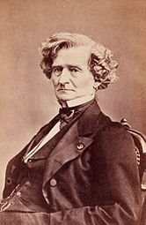 Carte De Visite Of Hector Berlioz From 1864 Or 1865 Around The Time His Young Lover Amelie Broke Off Their Relationship And Soon Died