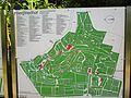 Heidelberg Bergfriedhof (Heidelberg) Lageplan Markierung der Grabanlagen bedeutender Persönlichkeiten die Aufzählung erhebt keinen Anspruch auf Vollständigkeit.JPG