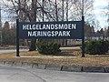 Helgelandsmoen Næringspark, skilt.jpg