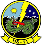 Helicopter Anti-Submarine Squadron 11 (US Navy) insignia 1960.png