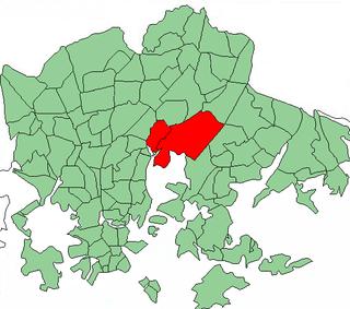 Helsinki Subdivision in Uusimaa, Finland