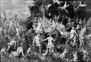 The Banquet of the Gods. The Wedding of Peleus and Thetis