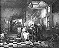 Henri Leys - Een Vlaamse herberg, op de voorgrond wisselt een meisje geld voor een heer - SA 2993 - Amsterdam Museum.jpg
