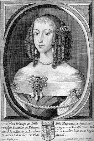 Princess Henriette Adelaide of Savoy - Image: Henriette Adelheid Savoyen Bayern