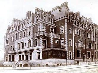 Henry Gurdon Marquand - Home of Henry G. Marquand, Madison Ave., New York. Built 1884, later demolished