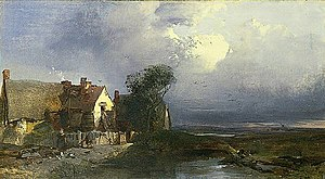 Henry Bright (painter) - Effect after rain