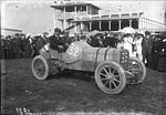 Henry Farman in his Panhard-Levassor at the 1908 French Grand Prix at Dieppe.jpg