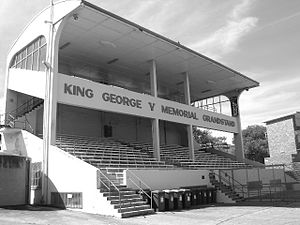 Henson Park - King George v Memorial Grandstand