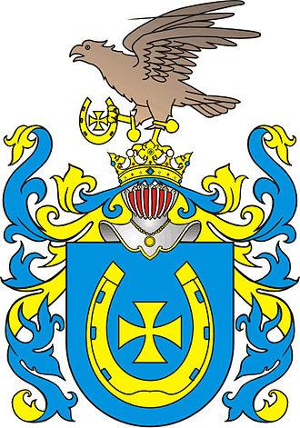 Jastrzębiec coat of arms - Pobog
