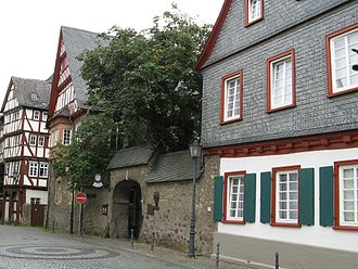 Herborn Academy - The Buildings of the Academy from 1588 until 1817
