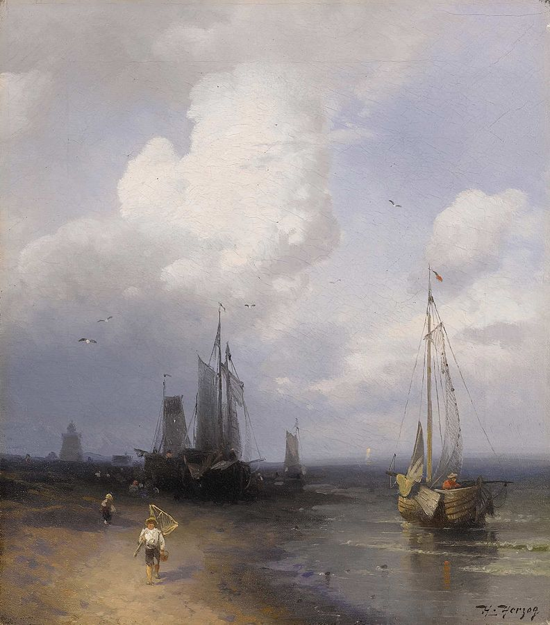 Dutch Coastal Scene