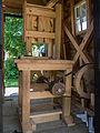 Het Hoogeland openluchtmuseum in Warffum, De zaagmachine van zaagmolen de David.jpg