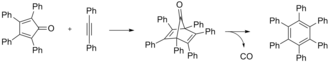 Hexaphenylbenzene - Hexaphenylbenzene synthesis