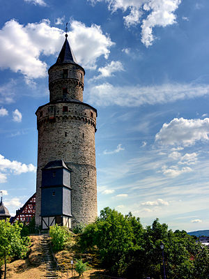 Witch tower - Image: Hexenturm Idstein P1150158 0 1 2 3 4 5 6 fused