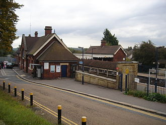 High Brooms railway station - The station in 2007