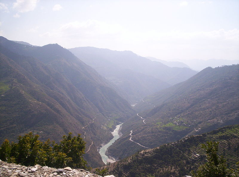 चित्र:Himalayan view of the Ganges.jpg