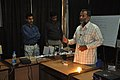Himanshu Sekhar Satapathy Demonstrating - National Workshop On Tabletop Science Exhibits And Demonstrations - NCSM - Kolkata 2011-02-12 1134.JPG