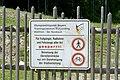 Hinweisschild am Biathlon-Leistungszentrum.jpg