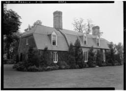 Historic American Buildings Survey John O. Brostrup, Photographer May 13, 1936 11-25 A.M. VIEW FROM SOUTHEAST - Mount Airy, Rosaryville, Prince George's County, MD HABS MD,17-ROSVI.V,2-10.tif