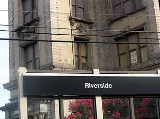 Riverside Township, New Jersey - Riverside Station on the River Line