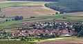 Hofheim i UFr - Schwedenschanze Aussichtsturm - Friesenhausen v O.JPG