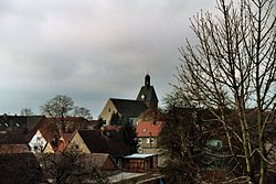 Holdenstedt (Allstedt), view to the village church.jpg