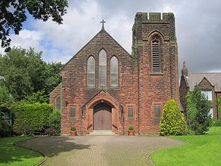 Cronton Village in the Metropolitan Borough of Knowsley, in Merseyside, England