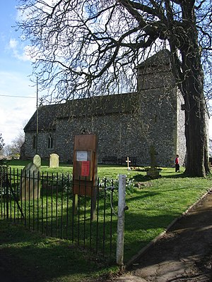 Nuffield, Oxfordshire - Image: Holy Trinity Church Nuffield External