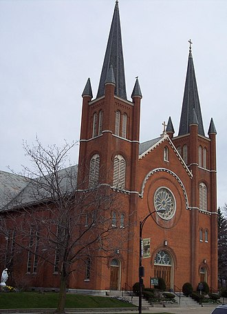Holy Angels Church (Buffalo, New York) - Image: Holy angels church 2